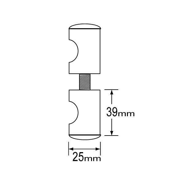 SS-0606 Glass Clip-1